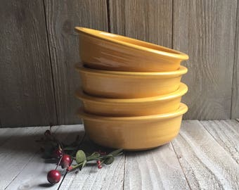 "Vintage Fiesta - 4-3/4"" Fruit Bowls"