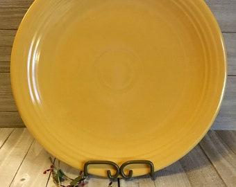 "Vintage Fiesta 13"" Chop Plate, Yellow"