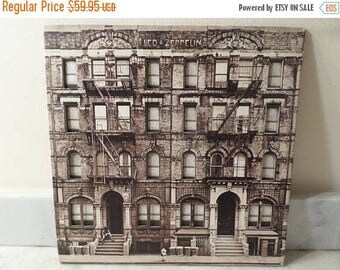 Save 30% Today Vintage 1975 Vinyl LP Record Led Zeppelin Physical Graffiti Excellent Condition 14602