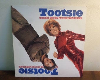 Vintage 1983 Vinyl LP Record Tootsie Original Motion Picture Soundtrack Dave Grusin Near Mint Condition 15635