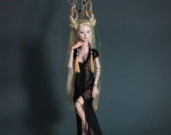 OOAK BJD Porcelain Art Wandering Doll Muse