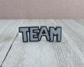 TEAM - Sports Team - Coach - Lapel Pin