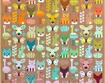 Delightful Desert Sampler Quilt Pattern - Elizabeth Hartman - Robert Kaufman - EH 039