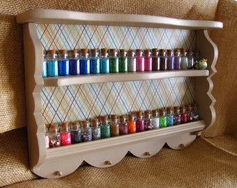 Small sparkly shelf