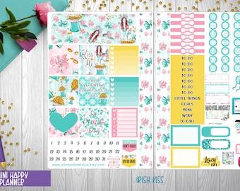 Mini Happy Planner Weekly Kit   IRISH KISS