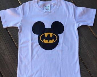 Batman Mickey Mouse shirt