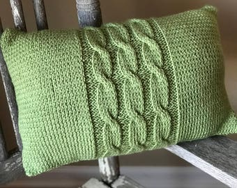Cable Pillow