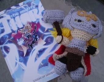 Thor (Jane Foster) Crochet Doll