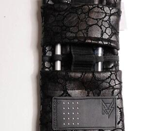 Stylish black case AOR for smartphone samsung or glasses
