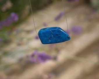 Lapis Lazuli Floating Necklace