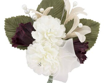 Ivory silk flowers