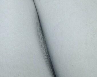 "Rustic Sunshine Blue Leather New Zealand Deer Hide 12"" x 12"" Pre-cut 3-4 ounces -13 DE-66117 (Sec. 6,Shelf 6,D)"