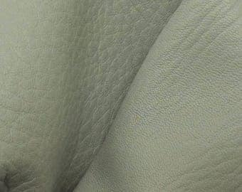 "Dreamy Day Blue Leather New Zealand Deer Hide 4"" x 6"" Pre-cut 3-4 ounces -28 DE-66163  (Sec. 3,Shelf 5,A,Box 2)"