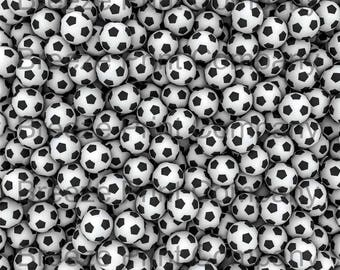 Soccer ball print craft  vinyl sheet - HTV or Adhesive Vinyl -  pattern vinyl  HTV251