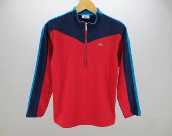 Lacoste Sweater Vintage Lacoste Activewear Vintage Lacoste Pullover Men's Size S