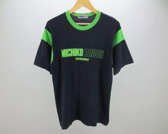 Michiko London Shirt Vintage Michiko Koshino T Shirt  Men's Size S Made in Japan