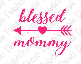 Blessed Mommy SVG/PNG for Download