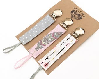 Pacifier Clips - Yvette Collection