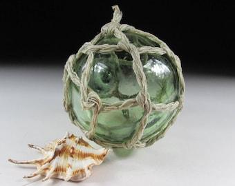 Medium Sized Hand Blown Glass Fishing Float, Koedo