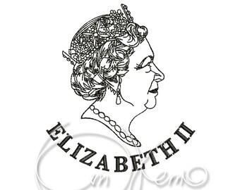 MACHINE EMBROIDERY DESIGN - Elizabeth2