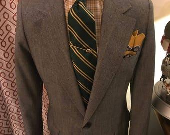Vintage Oxxford Blazer 41 Long - Super 100 Worsted Wool