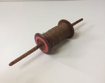 Vintage Wooden Spool of Kite String
