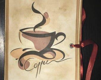 Coffee Shop Junk Journal