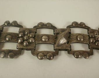 Arts & Crafts Era Hand Made Bracelet