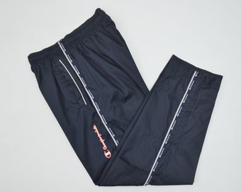 CHAMPION Pants Size Jaspo M Vintage Champion Track Pants Champion Vintage Casual Activewear 25-33x28