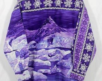 BiG SaLe Kenzo Paris Winter Iceberg Shirt Size Medium M Made In Japan / Garcons watanabe / yohji Comme  Homme / Yamamoto /