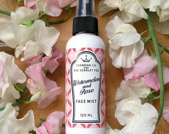 Rose and Watermelon Face Mist