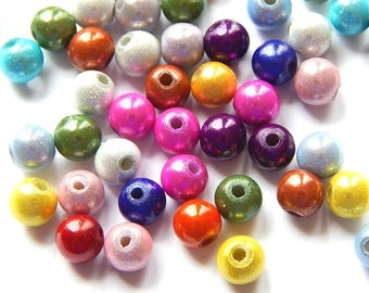 Beads magical miracles 3D acrylic 6mm