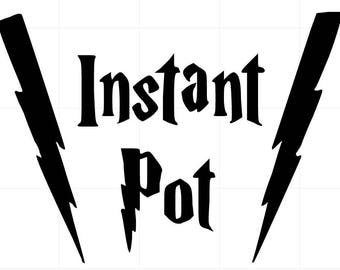 Instant Pot Decal - Harry Potter #instantpot