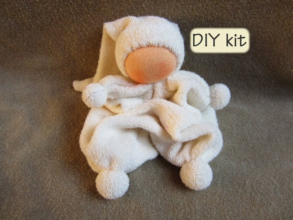Do it yourself kit waldorf doll ukkie instructions with - Material waldorf ...