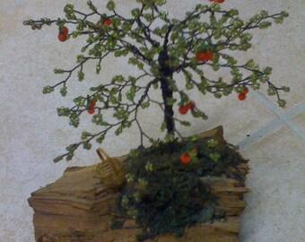 TREE LOG WOODEN BEAD