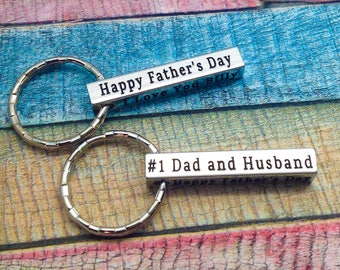 Husband gift, best valentine gift for him, grandpa gift, gift for dad, gift idea for husband, personalized key ring, Best Fathers Day Gift