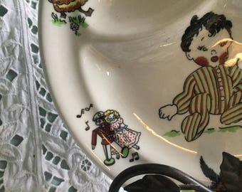 Mayer china restaurant ware - Toyland children's divided dish