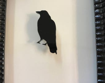 Black Raven Needle Minder