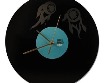 "CLOCK VINYL GNARLS BARKLEY ""CRAZY"""