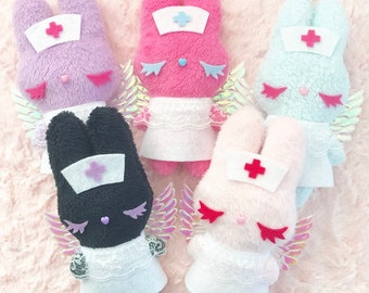 Dreamy Nurse Bunny Plush