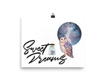 Sweet Dreams Luster Photo Poster