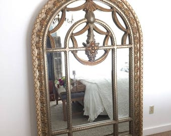 gold leaning mirror large arched mirror wall hanging mirror large decorative mirror
