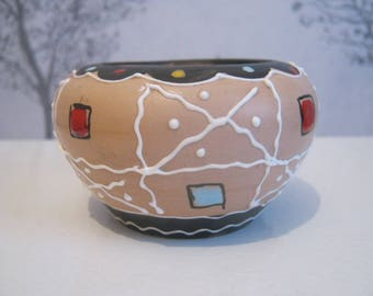 Mid century Italian Small bowl/Bud Vase