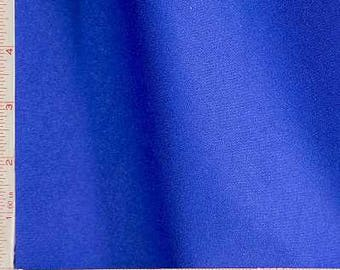 "Royal Blue Interlock 1 Mil Coated PUL Polyurethane Laminate Fabric Polyester 58-60"" 238300"