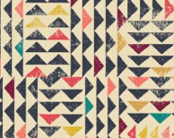 Fabric - Art gallery - jersey fabric -  Trojkat Sunrise In Knit From Indie Folk knit