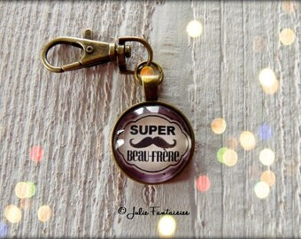"""Super brother"" keychain"