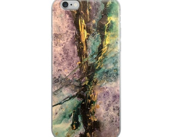 iPhone Case Amethyst Divide Print