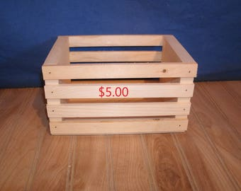 wood crate, wooden crate, wood crates, wooden crates, small wood crate, unfinished wood crate, unfinished wooden crate