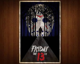 Friday the 13th Poster (Multiple Sizes)