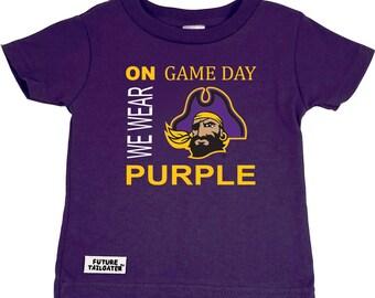 East Carolina On Game Day Baby/Toddler T-Shirt